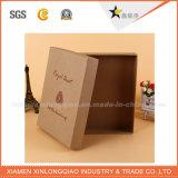 Напечатанная фабрикой коробка бутылки вина логоса роскошная бумажная