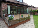 Free_Design Distanzhülsen-Glasgeländer für Balkon/Treppenhaus