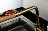 Doppelgriff-mehrfacher Oberflächenbehandlung RO-Küche-Hahn