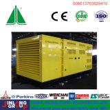звукоизоляционный тепловозный комплект генератора 625kVA