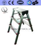De nieuwe Ladder van het Aluminium van de Kruk van de Stap van het Ontwerp