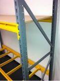 Metallmittleres Aufgaben-Lager-Fach-Stahlspeicher-Zahnstange