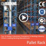 Sistema de rack de paletes de aço pesado para armazenamento de armazém industrial