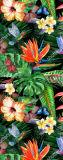 De nieuwe Mat van de Yoga van de Mat van de Yoga van de Druk van het Ontwerp Tropische Antislip Natte Absorberende
