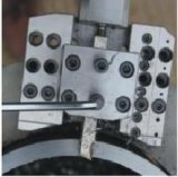 """máquina elétrica portátil da chanfradura e de estaca da tubulação 2-6 """" ISD-168 de 60-168mm"""