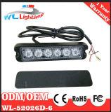 비상등 6LED 석쇠 경고 램프를 경고해 24V 경찰 LED