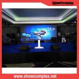 P6 Slim Cabinet Publicidade Display LED para exibição de TV