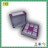 Caixa de presente de papel com dobrador personalizado com tampa