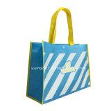 Подгоняйте хозяйственные сумки Tote способа Non сплетенные (YYNWB082)