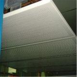 Panneau en nid d'abeille en fibre de verre lisse résistant aux intempéries pour la construction de carrosserie de camion (HR422)