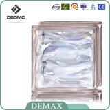 Bester freier Glasziegelstein-Höhlung-Kristallglas-Block des Preis-190*190*80mm, gefärbt und