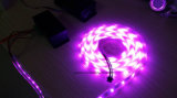 Striscia flessibile SMD 5050 30 LED di DC12V 24V RGB per tester