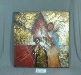 Modelo de la erupción volcánica de las pinturas colgantes de la lona casera