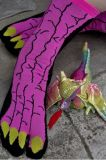 Носок носка 2-Toe Tabi платья конструкции вычуры когтя динозавра