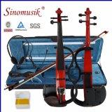 Ensembles complets d'instruments de Muscial bon marché 4/4 violon électrique