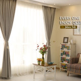 Ropa de estilo moderno Heat-Insulating sólido de la ventana de cortinas de tela de cortina (14F0015)