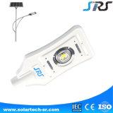 Luz de rua da potência solar de vidro de fibra com câmera do CCTV