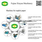 Máquina de escavação de papel de tecido de guardanapo automática para dobrar