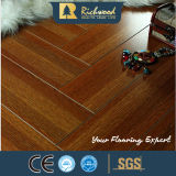 Som de cristal da cereja AC4 do agregado familiar 12.3mm - revestimento laminado de absorção