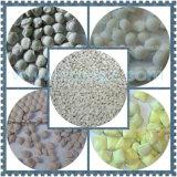 5%と等しいかまたはそれ以下の含水率が付いている粉材料のために適した酸化防止剤の造粒機