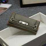 Marken-echtes Leder-Mappen-klassischer Kupplungs-Frauen-Fonds Emg4736