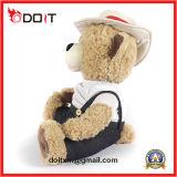 Urso feito sob encomenda da peluche do urso feito sob encomenda da peluche do urso com chapéu