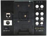 """7 """" 10 monitor lleno del campo de la cámara de vídeo de la horca de grúa de la visualización HD de Mipi del dígito binario"""