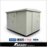 15kv/22kv/33kvコンパクトな変圧器のキオスクの配電所