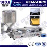 Máquina de embotellado semi automática Lleno-Neumática del tarro de la miel de la abeja Sfgg-120