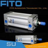 Cilindro de alumínio do ar do cilindro pneumático industrial (séries da SU)