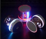Mini altoparlante senza fili del LED del regalo chiaro variopinto all'ingrosso delle icone con la radio di FM