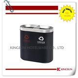 cubo de basura externo grande de la poder de basura de dB-786b