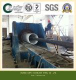 Tubo de acero inoxidable AISI304 para la planta de papel