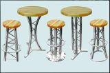 De klassieke Barkruk van de Bundel van het Aluminium voor de Club van de Nacht