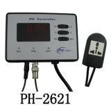 Medidor de pH químico en línea de Digitaces de la alta exactitud con el electrodo reemplazable del pH (pH-2621)