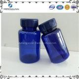 化学包装のための熱い販売青い250ccペットプラスチックびん
