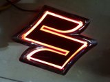 lumière de logo de la lumière DEL d'insigne du véhicule 5D pour Suzuki