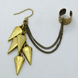 포도 수확 금 색깔 술 링크 사슬 팔목 귀걸이 새로운 디자인 보석