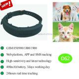 Gps-Verfolger für Haustiere mit der Istzeit-Positionierung (D62)