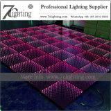 다채로운 3D 미러 LED 댄스 플로워는 사건 지면을 불이 켜진다