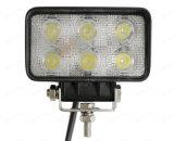 4.3のインチのBridgelux 6PCS*3W LED作業ドライビング・ライト自動LEDライト作業18W