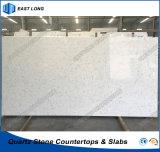 Pietra del quarzo per materiale da costruzione di superficie solido con Ce & i certificati dello SGS (colori di marmo)