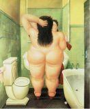 Peinture de Botero de reproduction - 08