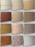 Panneaux de mur isolés métalliques gravés en relief par qualité