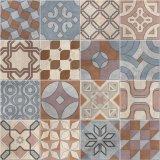 Mattonelle di pavimento di ceramica lustrate lucidate stile europeo classico del fiore