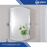 Rectângulo montado na parede Framless Copper Free Bath Mirror