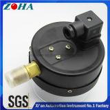 Manometro elettrico del contatto con il limite superiore e più basso