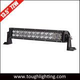 """Resistente al agua IP67 13"""" 72W LED Offroad doble fila de la barra de luces de conducción de camiones"""