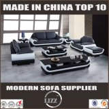 China Leisure Itália Sofá de couro Divan Furniture