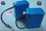 18650 10ah Batterij van het Lithium LiFePO4 van 12.8V de Navulbare Zonne